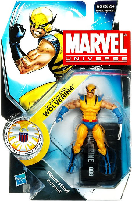 Marvel Universe Series 13 Wolverine Action Figure #8 [First Appearance]