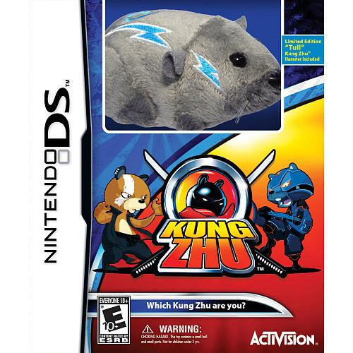 Nintendo DS Kung Zhu Exclusive Video Game [With Tull Hamster]