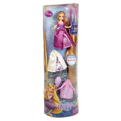 Disney Tangled Royal Fashions Rapunzel 3.5-Inch Figure