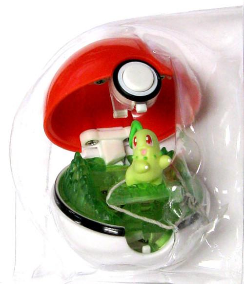 Pokemon Pop n Battle Chikorita Pokeball