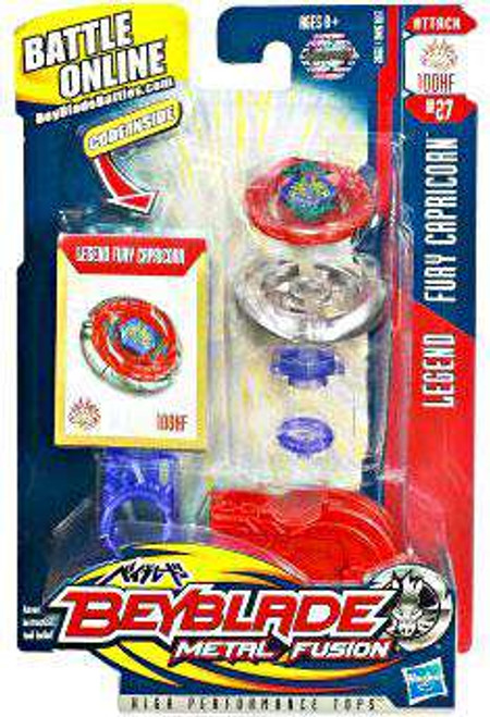 Beyblade Metal Fusion Fury Capricorn Single Pack BB-27 [Legend]
