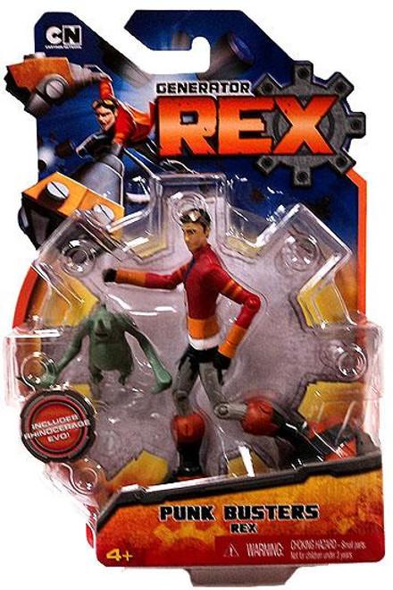 Generator Rex Rex Action Figure [Punk Busters]