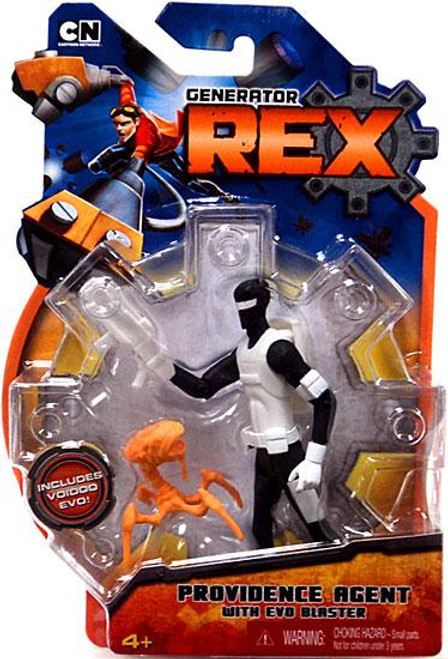 Generator Rex Providence Agent Action Figure [With Evo Blaster]
