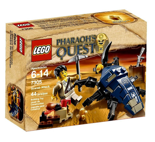 LEGO Pharaoh's Quest Scarab Attack Set #7305