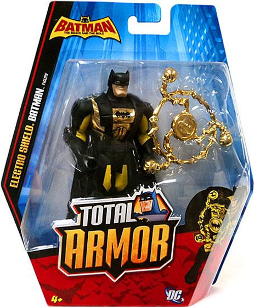 The Brave and the Bold Total Armor Electro Shield Batman Action Figure