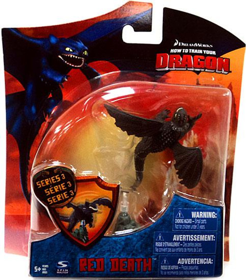 How to Train Your Dragon Series 3 Red Death Action Figure