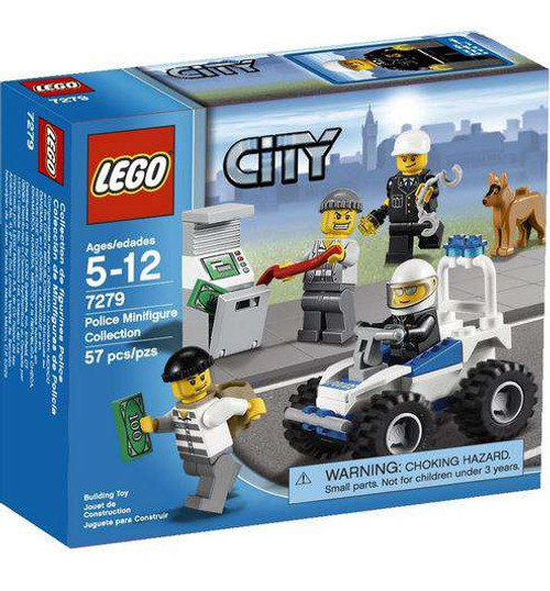 LEGO City Police Minifigure Collection Set #7279