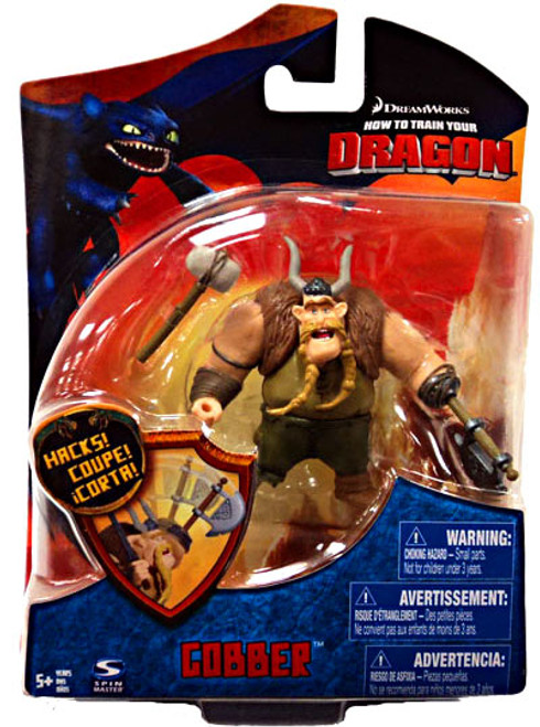 How to Train Your Dragon Series 2 Gobber Action Figure