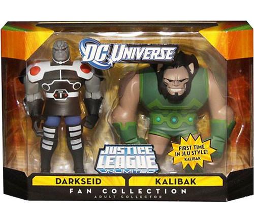 DC Universe Justice League Unlimited Fan Collection Darkseid & Kalibak Exclusive Action Figures