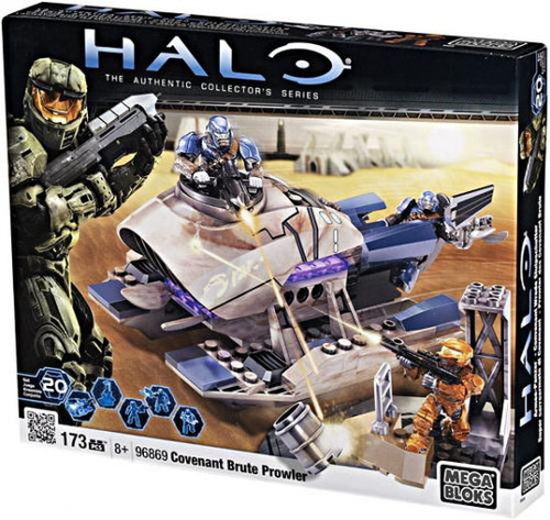 Mega Bloks Halo The Authentic Collector's Series Covenant Brute Prowler Set #96869