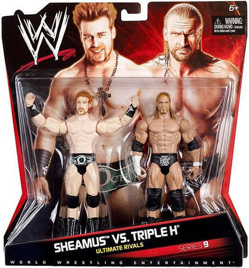 WWE Wrestling Series 9 Sheamus vs. Triple H Action Figure 2-Pack