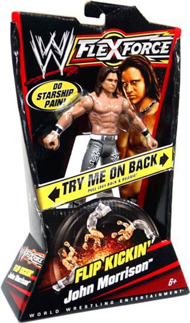 WWE Wrestling FlexForce Series 1 Flip Kickin' John Morrison Action Figure
