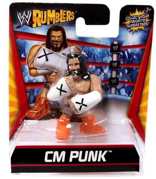 WWE Wrestling Rumblers Series 1 CM Punk Mini Figure [Orange Boots]