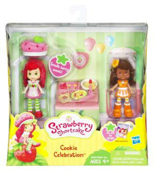 Strawberry Shortcake Cookie Celebration Mini Figure 2-Pack