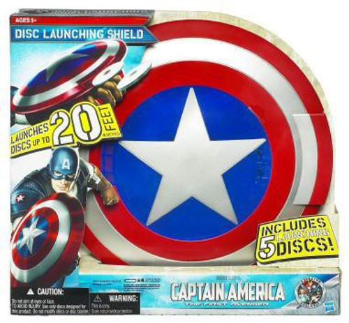 The First Avenger Captain America Movie Disc Launching Shield