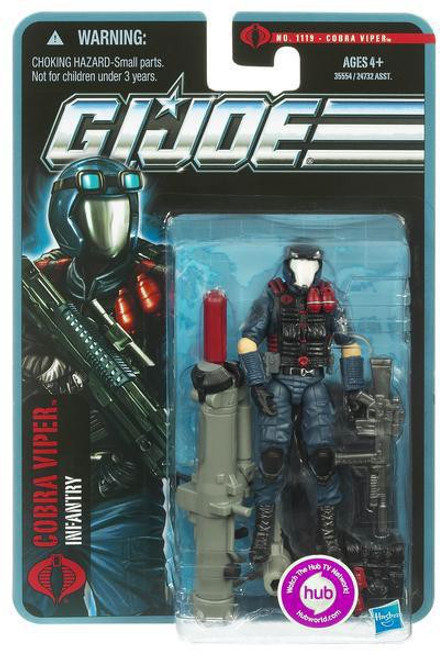 GI Joe Pursuit of Cobra Cobra Viper Action Figure