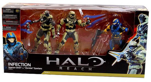 McFarlane Toys Halo Reach Multipacks Infection Action Figure 3-Pack