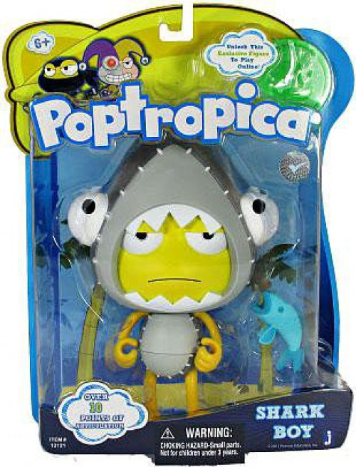 Poptropica Shark Boy Action Figure