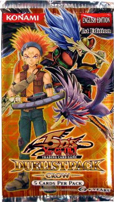 YuGiOh Duelist Pack Crow Booster Pack [Sealed]