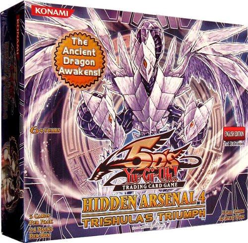 YuGiOh Hidden Arsenal 4: Trishula's Triumph Booster Box [24 Packs] [Sealed]