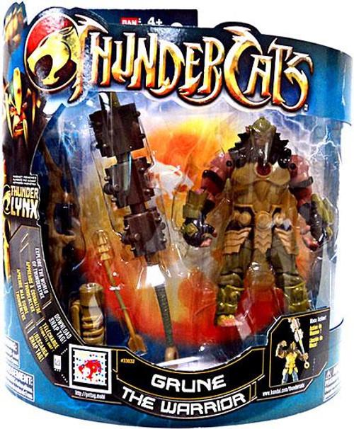 Thundercats Thunder Lynx Deluxe Grune the Warrior Action Figure [Mumm-Ra Logo]