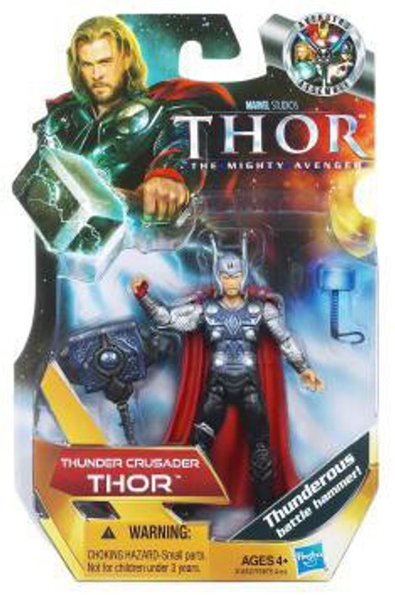 The Mighty Avenger Thor Action Figure #15 [Thunder Crusader]