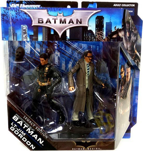 Legacy Edition The Dark Knight Returns Prototype Suit Batman & Lt. Jim Gordon Action Figure 2-Pack