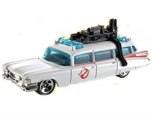 NECA Hot Wheels Cult Classics Ghostbusters Ecto 1A Diecast Vehicle