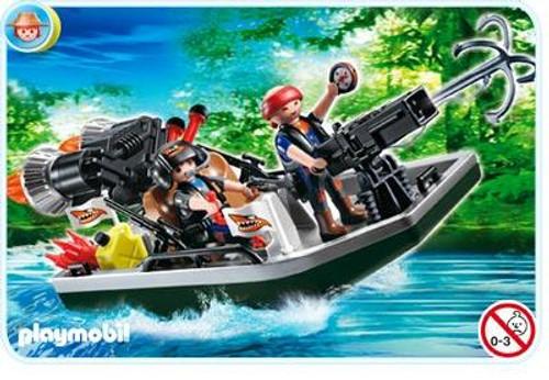 Playmobil Treasure Hunters Treasure Robbers Boat with Cannon Set #4845