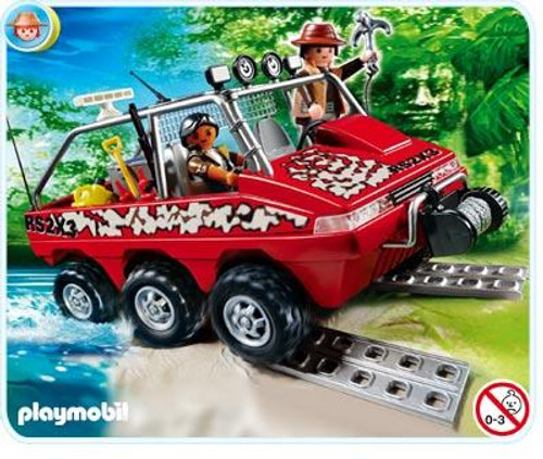 Playmobil Treasure Hunters Treasure Hunters Amphibious Truck Set #4844