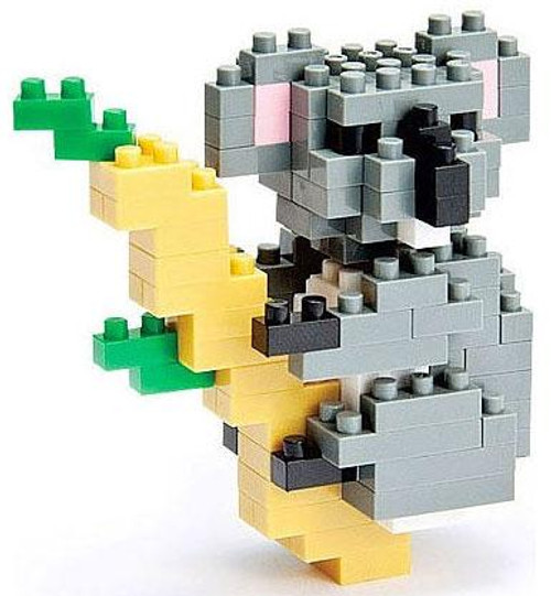 Nanoblock Micro-Sized Building Block Koala Figure Set