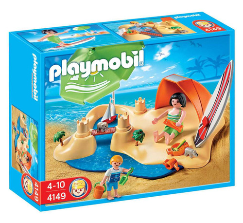 Playmobil Vacation & Leisure Beach Holiday Set #4149