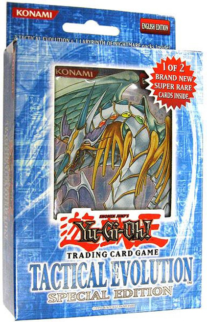YuGiOh Tactical Evolution Special Edition Pack [Sealed]