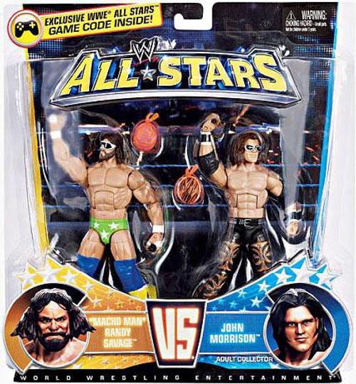 WWE Wrestling All Stars Macho Man Randy Savage Vs. John Morrison Exclusive Action Figure 2-Pack