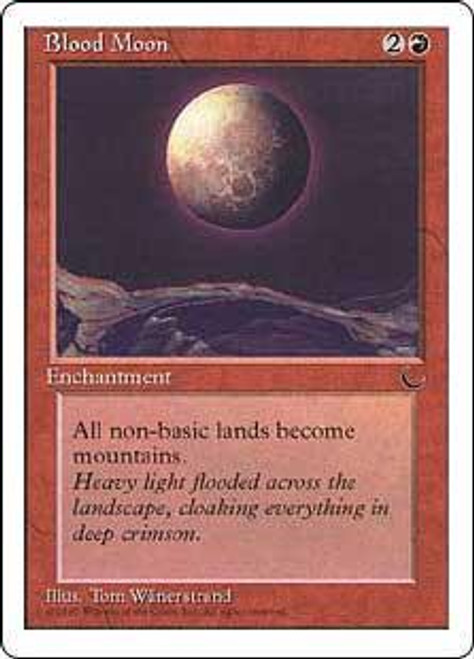 MtG Chronicles Rare Blood Moon