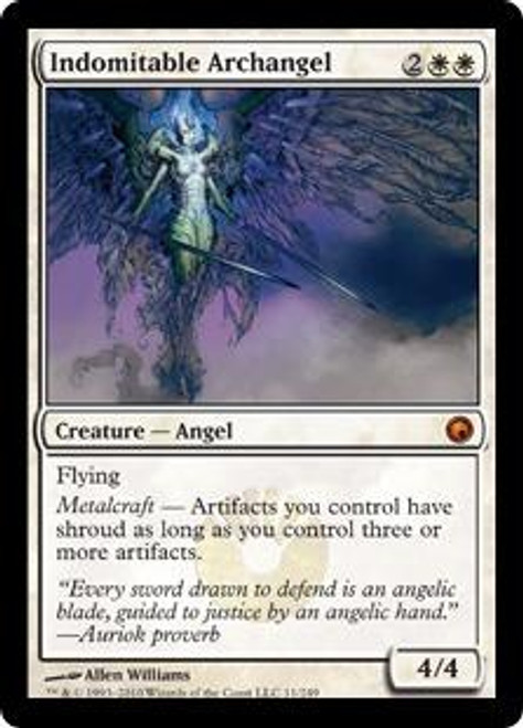 MtG Scars of Mirrodin Mythic Rare Indomitable Archangel #11