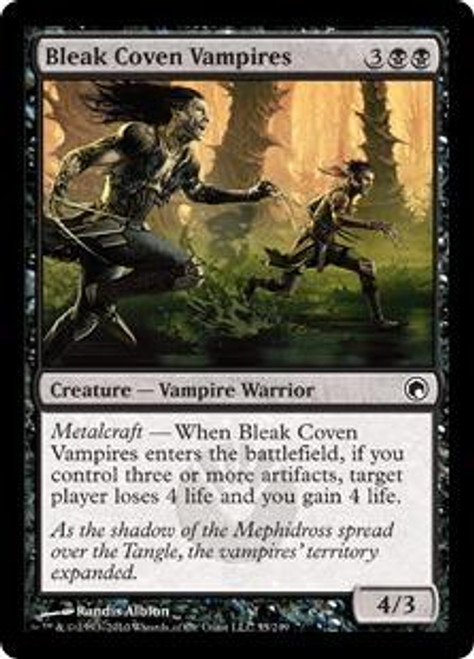 MtG Scars of Mirrodin Common Bleak Coven Vampires #55