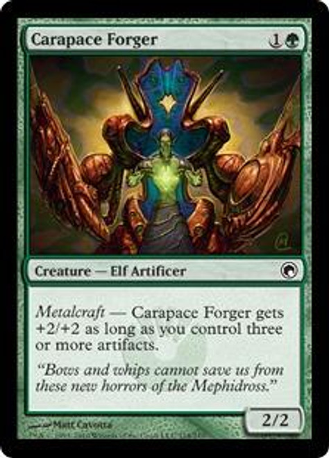 MtG Scars of Mirrodin Common Carapace Forger #114
