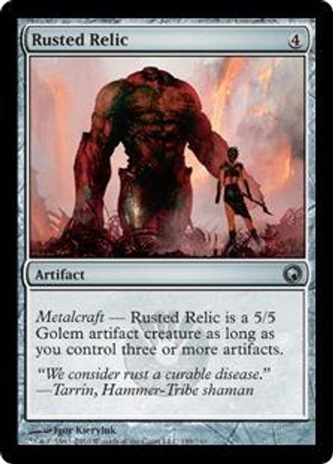MtG Scars of Mirrodin Uncommon Rusted Relic #199
