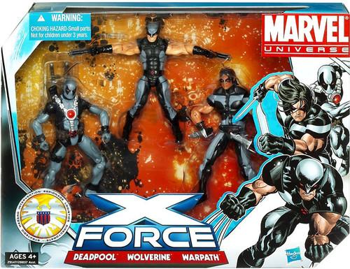Marvel Universe Super Hero Team Packs X-Force Action Figure Set