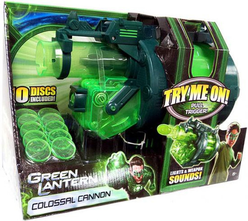 Green Lantern Movie Colossal Cannon Roleplay Toy