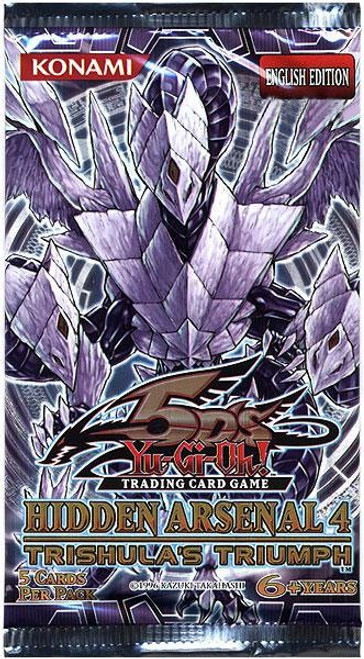 YuGiOh Hidden Arsenal 4: Trishula's Triumph Booster Pack [Sealed]