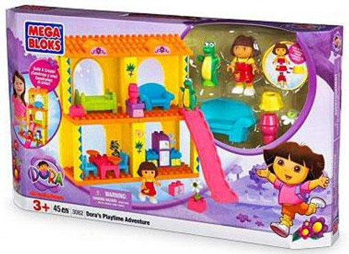 Mega Bloks Dora the Explorer Dora's Playtime Adventure Set #3082
