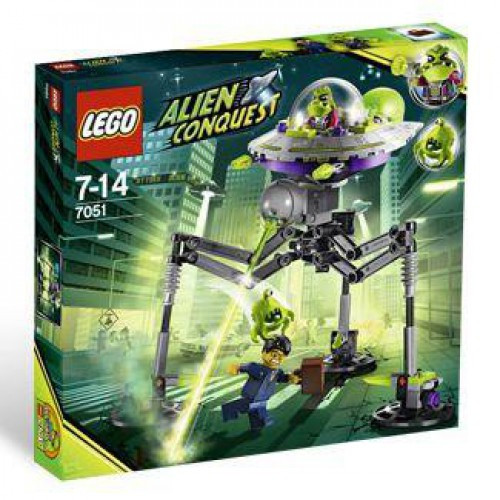 LEGO Alien Conquest Tripod Invader Set #7051