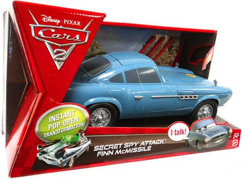 Disney Cars Cars 2 Secret Spy Attack Finn McMissile Plastic Car
