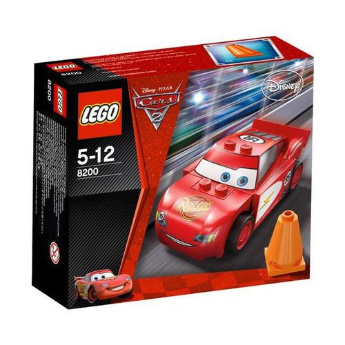 LEGO Disney Cars Cars 2 Radiator Springs Lightning McQueen Set #8200
