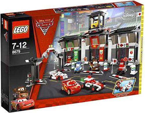 LEGO Disney Cars Cars 2 Tokyo International Circuit Exclusive Set #8679