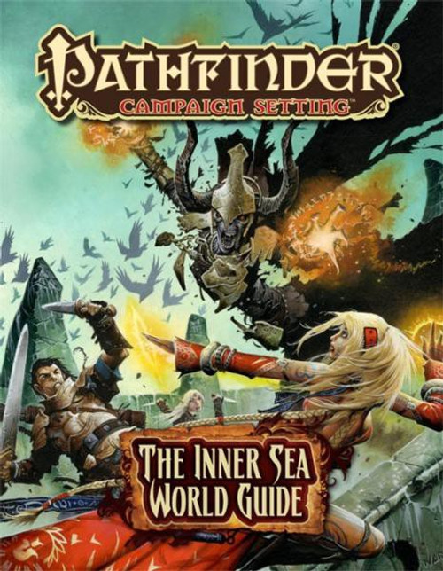 Pathfinder Inner Sea World Guide Roleplaying Book
