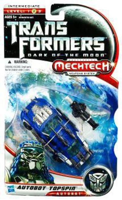 Transformers Dark of the Moon Mechtech Autobot Topspin Deluxe Action Figure