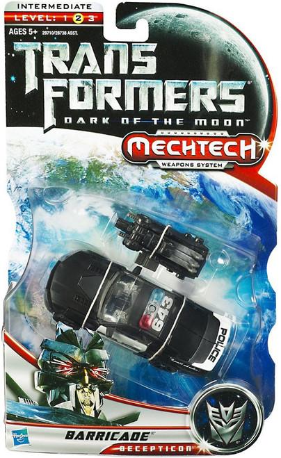 Transformers Dark of the Moon Mechtech Barricade Deluxe Action Figure